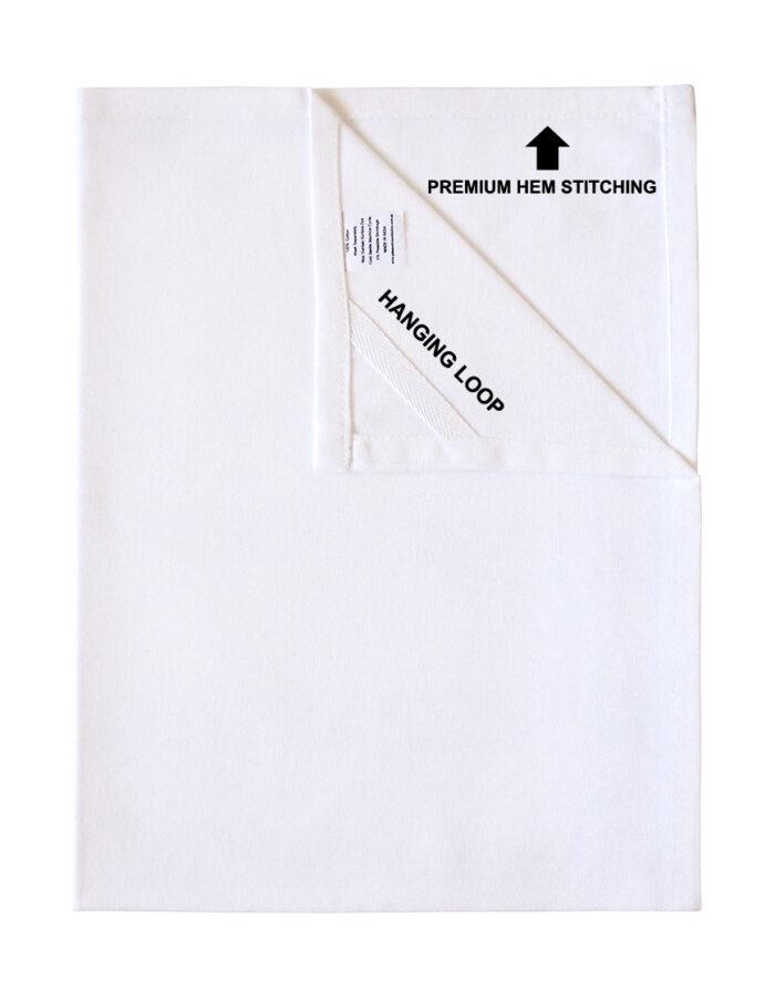 Plain White (blank) Tea Towels 3 Pack